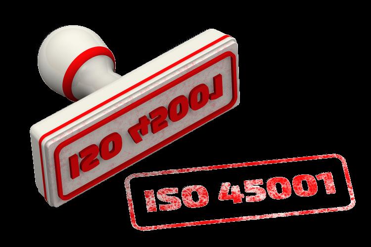 Timbro ISO45001;2018